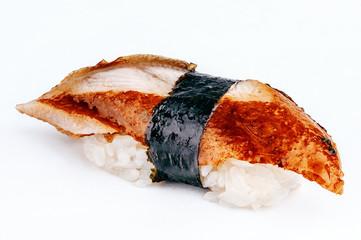Unagi sushi with eel fish