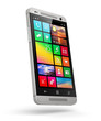 canvas print picture - Modern touchscreen smartphone