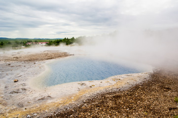 Hot water on Iceland