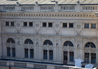 Side view of Lviv Opera Theater