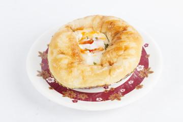 Egg bun Danish Pastry