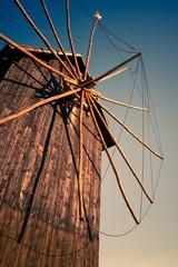 Wind mill in Nessebar, Bulgaria