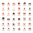 'House For Sale' Icons Set - Isolated On White Background