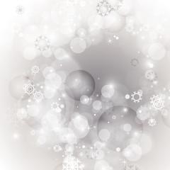 Christmas Background - Vector Illustration