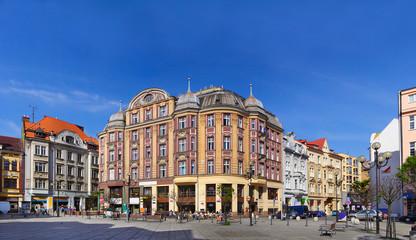 Jirasek Square, Ostrava, Czech republic