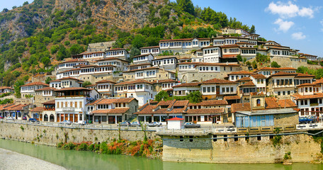 Old town Berat, Albania, World Heritage Site by UNESCO
