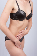 femme sexy mince