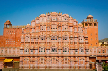 Hawa Mahal facade