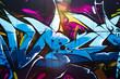 Leinwanddruck Bild - Street art graffiti