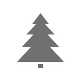 Fototapety Icono árbol de Navidad FB