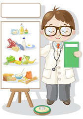 Small Characters the Nutritionist