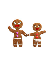 mrs and mister gingerbread