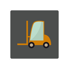 Flat loader icon