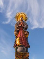 marienbrunnen in schwäbisch gmünd
