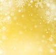Hintergrund Winter Schnee gold