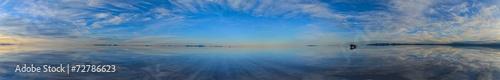 Leinwandbild Motiv Sunrise  on Uyuni