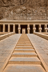 Hatshepsut near Luxor in Egypt