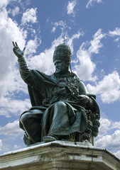 The monument to Pope Paul the fifth