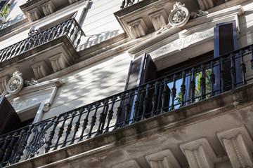 metal balconies