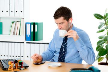 coffee break in the office