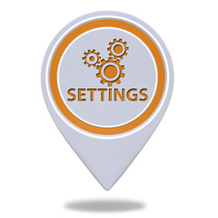 Setting pointer icon on white background