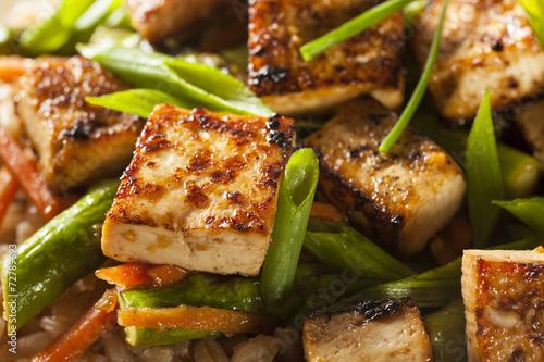 Homemade Tofu Stir Fry - 72789693