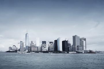 Vue de Manhattan à New-York - USA