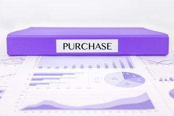 Purchase documents, graph analysis and  budget plan