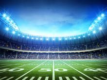 Hintergrund der amerikanischen Stadion
