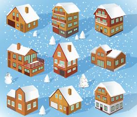 Family houses (Winter)