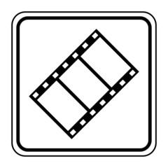 Logo pellicule. Vidéo.