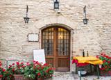 Entrata tipico ristorante italiano