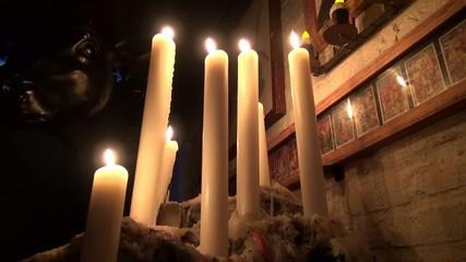 Candles, Wax, Fire, Light