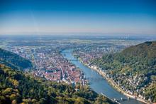 """Постер, картина, фотообои """"Heidelberg Luftaufnahme """""""