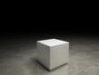 white pedestal - 72798692