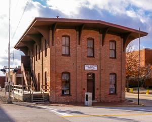 Great Western Railroad Depot in Springfield, Illinois