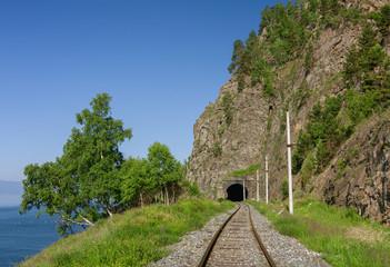 Summer on the Circum-Baikal railroad in East Siberia