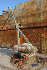 Old rusty boat