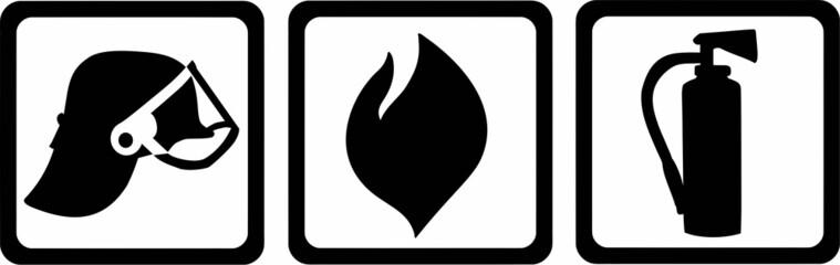 Firefighter Tools Flame Helmet