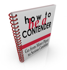 How to Be a Contender Advice Information Book Manual Instruction