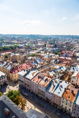 Lviv bird's-eye view