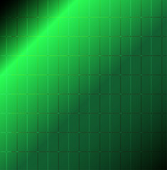 Green with light, abstract pattern background