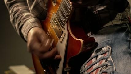 Playing Electrical Guitar