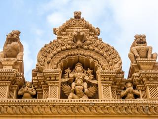 Temple roof at Nanjangud