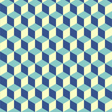 Fototapety Abstract isometric cube pattern background