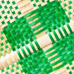 Weaved bamboo texture