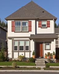New home in Willsonville Oregon.