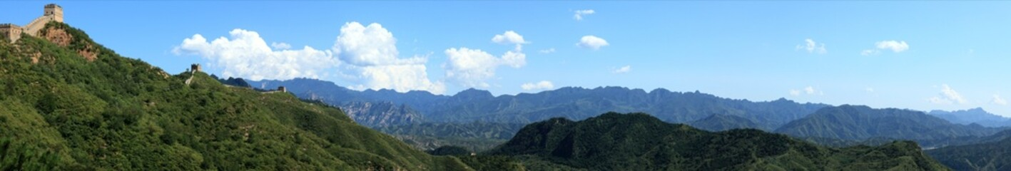 Landschaften in China bei Jinshanling