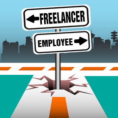 Freelancer employee