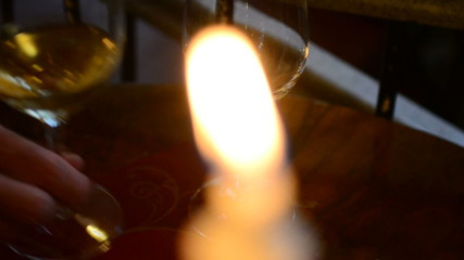 Resharpening from candle to wine